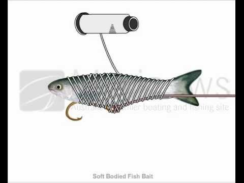 How to Tie Soft Bodied Fish Bait