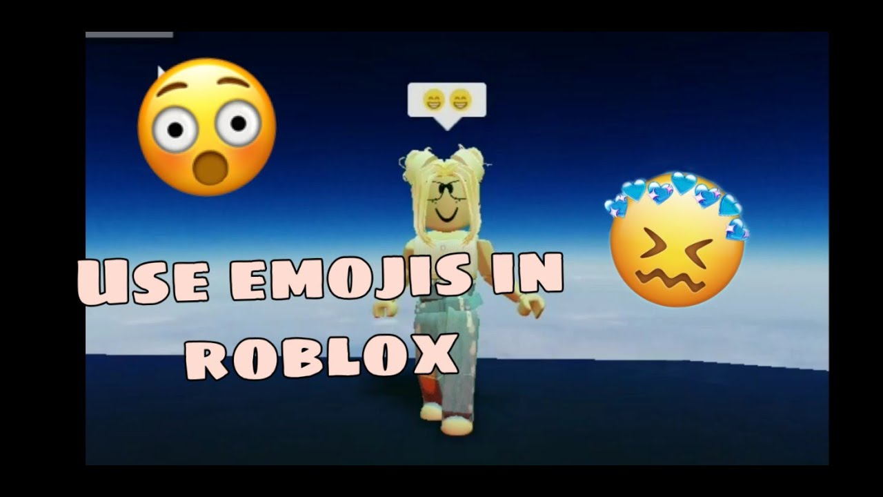 How To Type Emojis On Roblox How To Use Emojis In Roblox Pc No Copy Paste 2020 Youtube