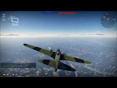 War Thunder Ilyushin Il-4 Soviet Bomber