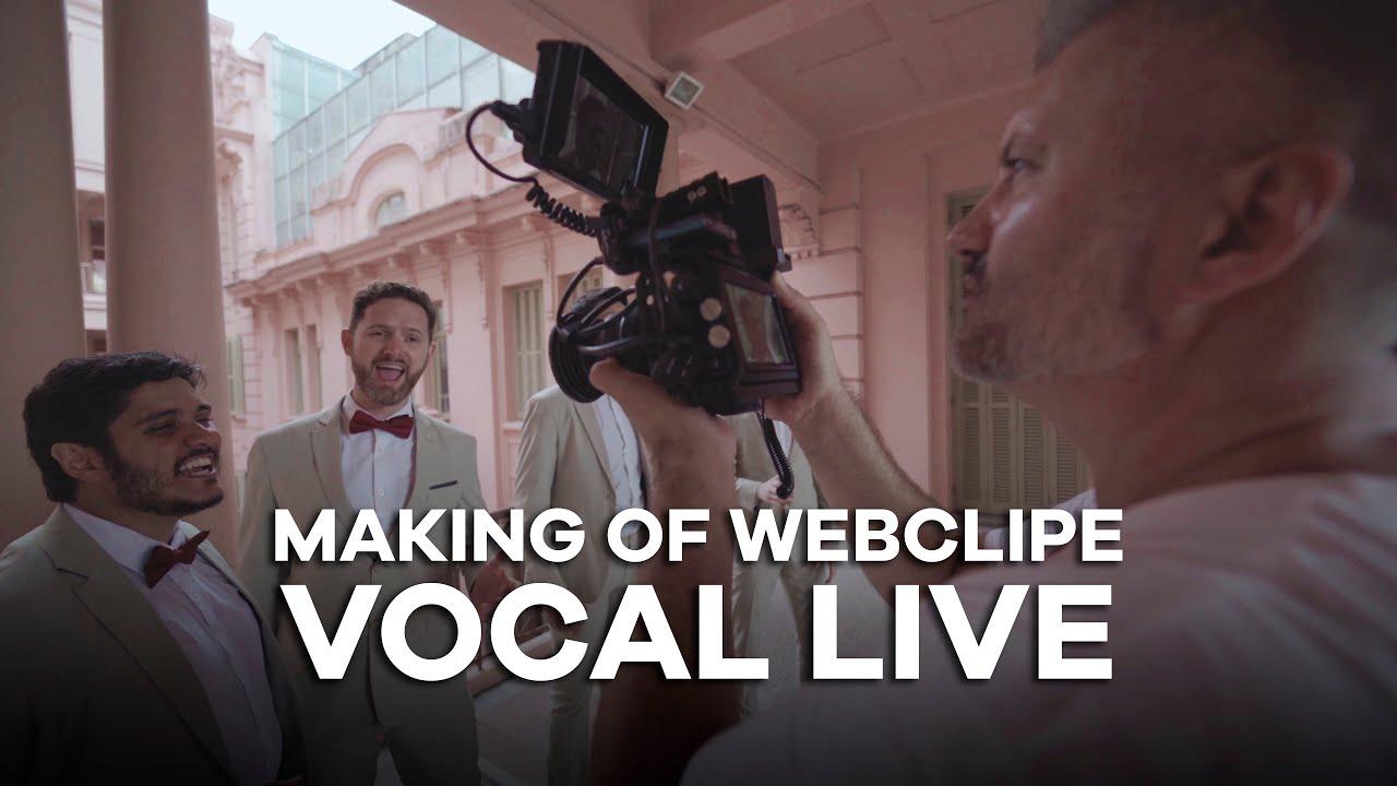 Making of: Webclip Vocal Live