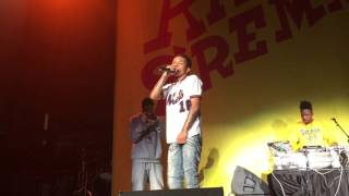 """Rae Sremmurd """"By Chance & Over Here"""" LIVE FRONT ROW"""