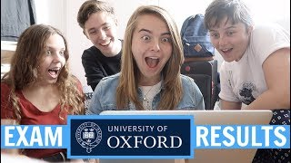 REACTING TO MY FIRST YEAR UNIVERSITY RESULTS ON CAMERA | Oxford University Exam Results....