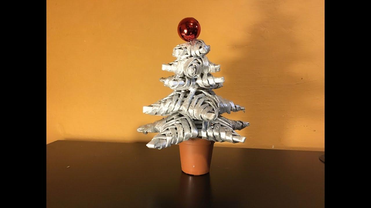 How To Make A Newspaper Christmas Tree