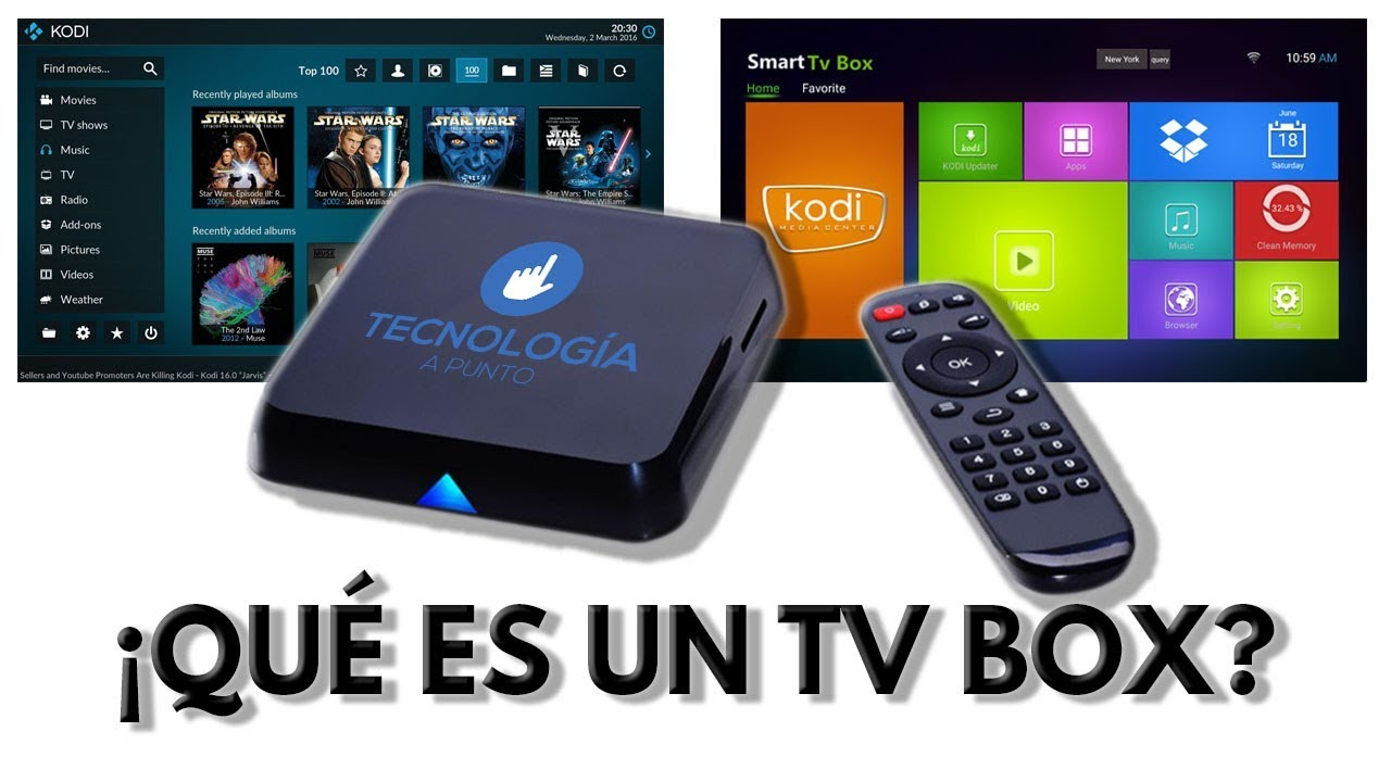 QUÉ ES UN TV BOX? - YouTube