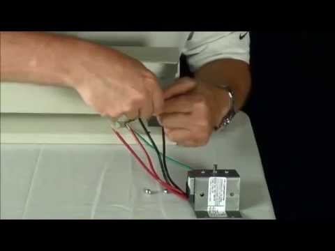 Markel 2900 series double pole electric baseboard heater markel 2900 series double pole electric baseboard heater thermostat installation youtube asfbconference2016