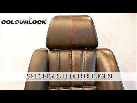 LEDER REINIGEN - LEDERPFLEGE - LEDER GLANZ