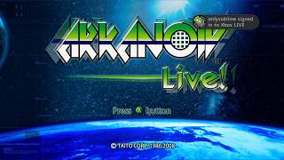 ARKANOID Live! Xbox One Xbox 360 Episode 1, Episode 2 gameplay