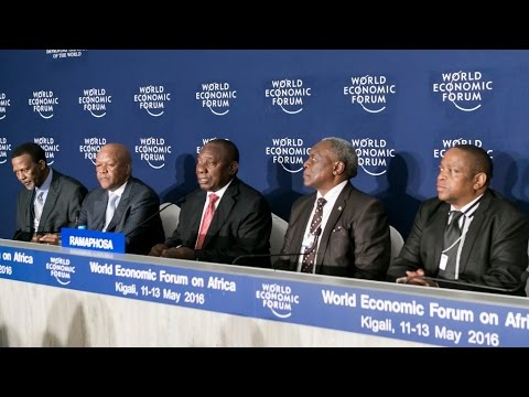Africa 2016 - Press Conference with Cyril Ramaphosa, Deputy President of South Africa