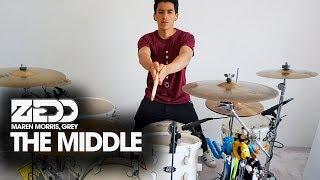 THE MIDDLE - Zedd, Maren Morris, Grey | Drum Remix *Batería*