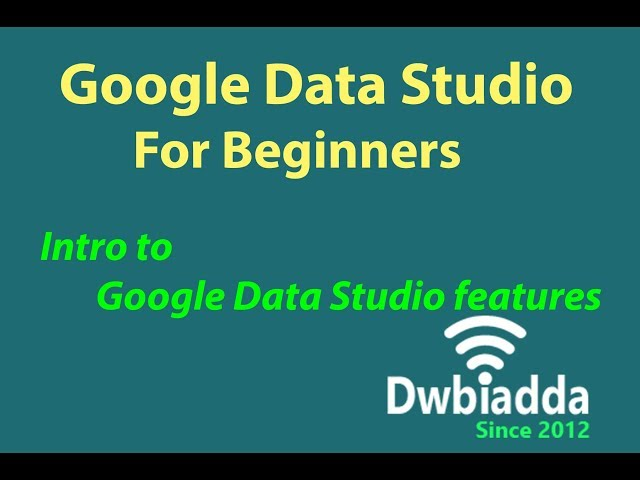 What is Google cloud Data Studio | how is it relates to Reporting?