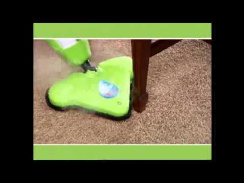 Влажная уборка паровой шваброй H2O Mop X5 видео