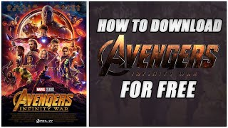 HOW TO DOWNLOAD AVENGERS:INFINITY WAR (TORRENT) WITH ENGLISH SUBTITLES