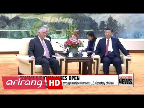 U.S. directly communicating with N. Korea through multiple channels: U.S. Secretary of State