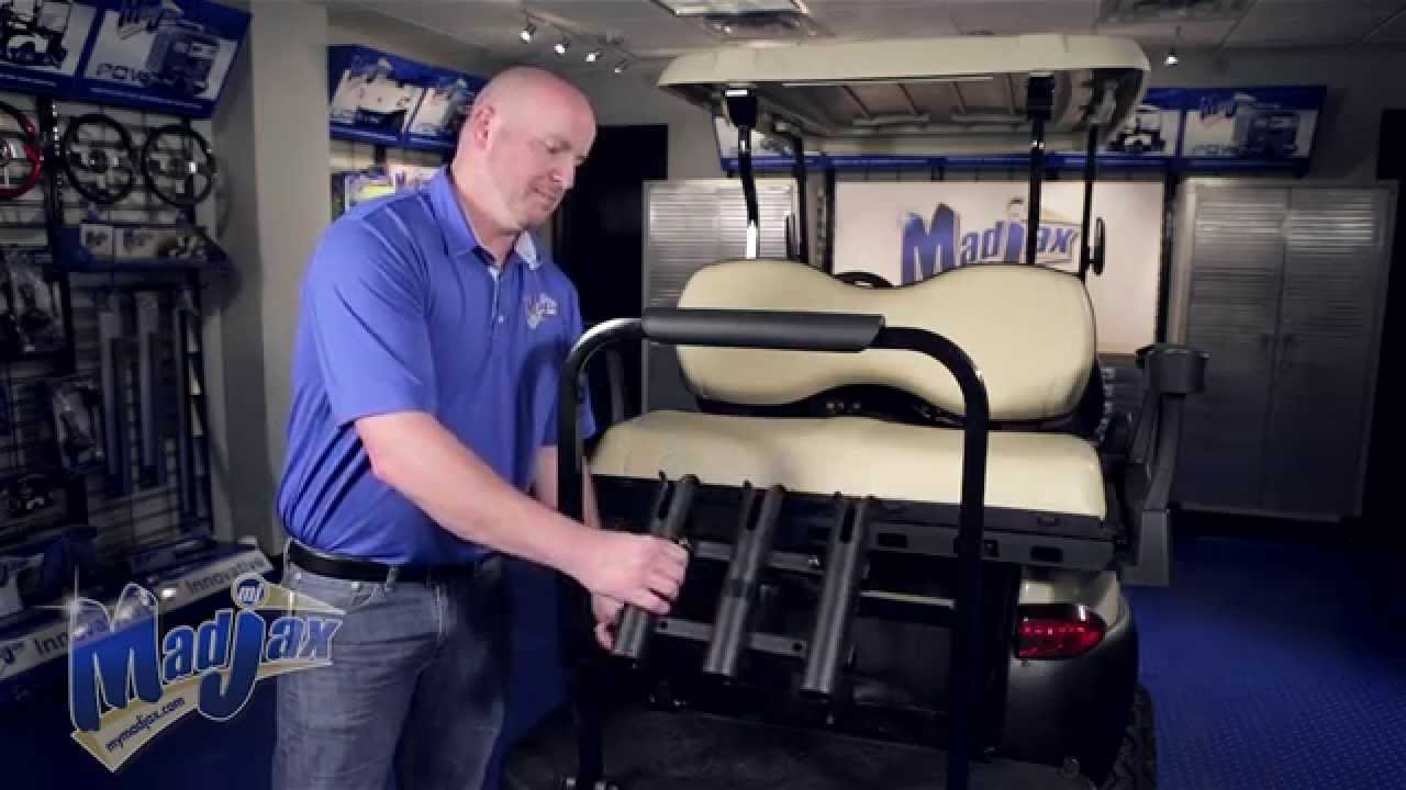 Fishing Rod Holder for G250  G300 Rear Seat  How to
