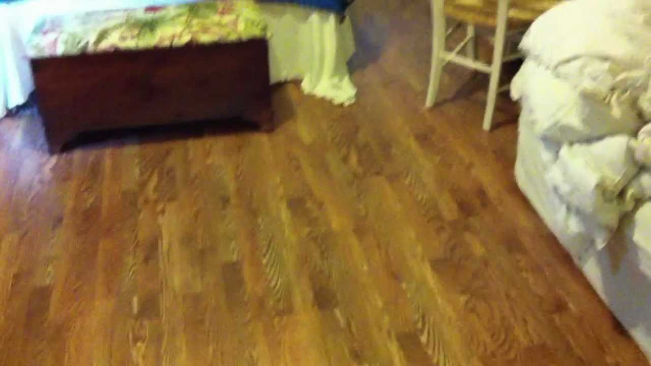 Pergo Laminate Floors With Matching Quarter Round Youtube