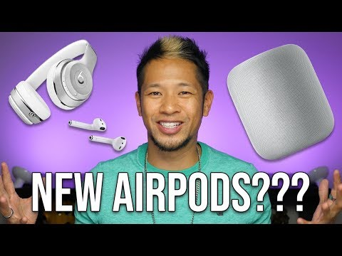 New AirPods, HomePod and Apple Headphones in early 2019 Mp3