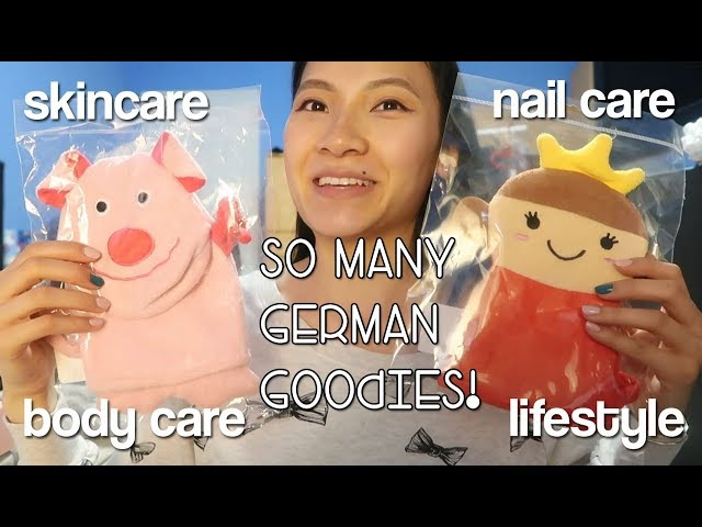 Huge Haul from Germany - Drugstore + Amazon + Gifts & Mini Reviews! | teeawithlee