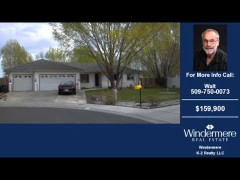Homes For Sale Moses Lake WA $159900 1734-SqFt 3-Bdrms 2-Baths On 0.32 Acre