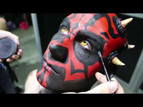 Comic Con València 2018 - Makeup Star Wars thumbnail