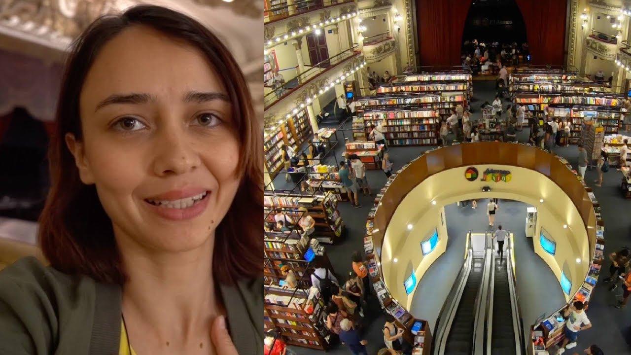 Terk Edilmiş Binayı Bakın Ne Hale Getirmişler! - Arjantin'deki Fantastik Kitapçı