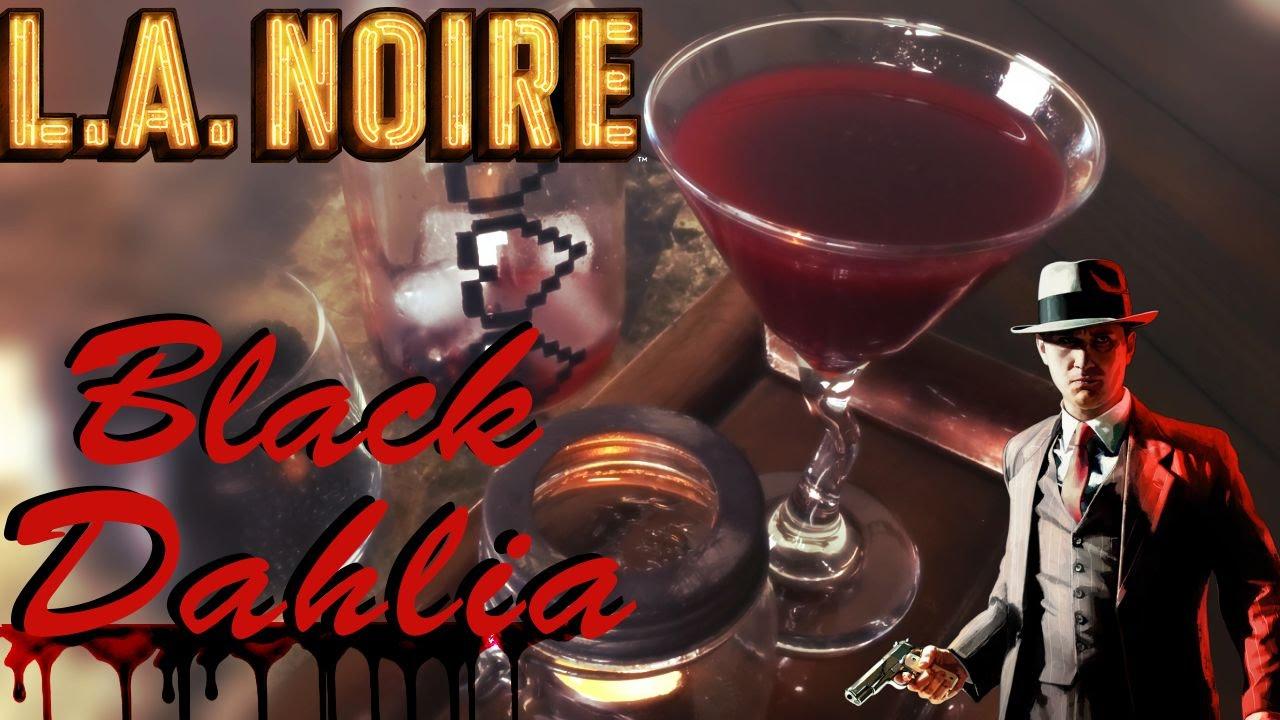 l.a. noire: the black dahlia martini | cocktails & consoles - youtube