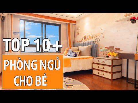 Mẫu thiết kế nội thất phòng ngủ dành cho bé mang đậm chất cá tính | Nội thất inHome