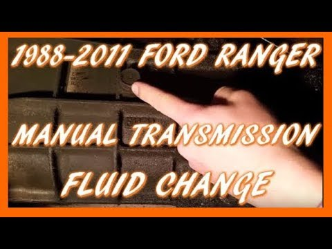 How To Change Manual Transmission Fluid 1988-2011 Ford Ranger | M5OD-R1 Transmission