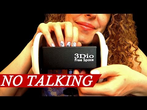 Binaural Scratching on 3Dio! No Talking ASMR Sounds For Sleep