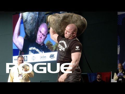2018 Arnold Strongman Classic | Stone Shoulder - Full Event