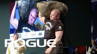 2018 Arnold Strongman Classic | Stone Shoulder - Full Live Stream Event 2