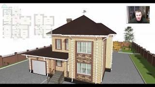 Проект удобного  двухэтажного дома «Уральск» C-414-ТП