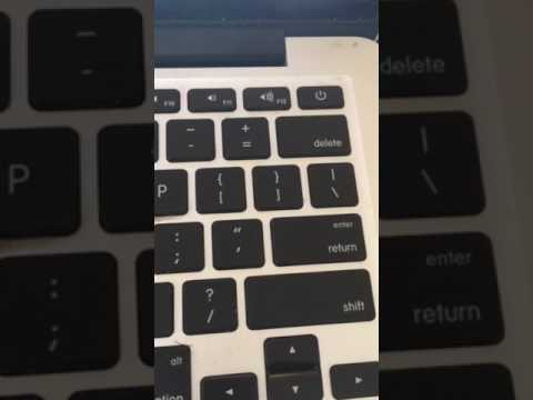 Strange buzzing noise coming from MacBook Pro