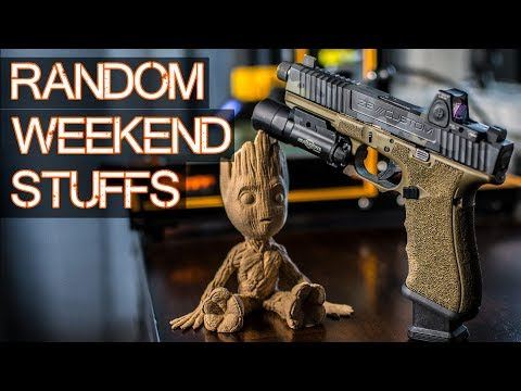 RANDOM Weekend - Shooting the M&P Compact, DiamondBack Install, Gadgets and Gizmos