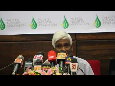 """ Is oil palm bad for health "" - Dr. Parakrama Waidyanatha."