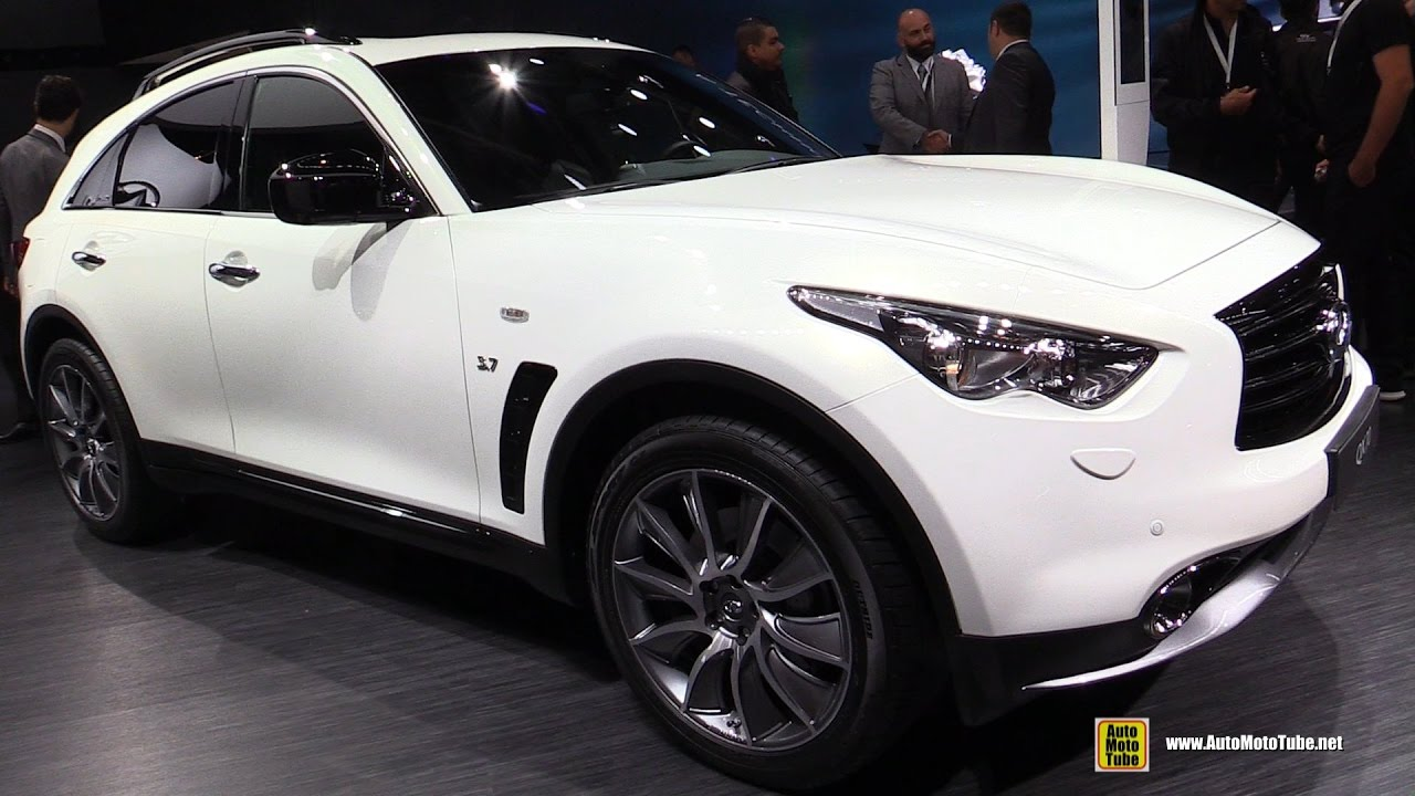 2017 infiniti qx70 s exterior and interior walkaround 2016 paris motor show youtube. Black Bedroom Furniture Sets. Home Design Ideas