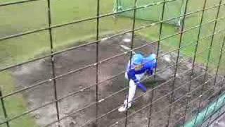 小林太志 投球練習