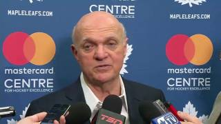 2017 NHL Trade Deadline: Lou Lamoriello - March 1, 2017