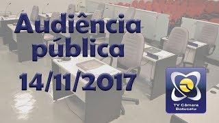 """Audiência Pública 14 11 2017  - Campanha """"Novembro Azul"""""""