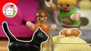 Playmobil Film deutsch - Familie Hauser und der Hamster - Spielzeug Geschichte für Kinder