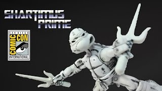 TMNT Raphael SDCC 2014 Exclusive Toy Original Mirage Comic Black and White Action Figure Review