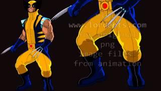 X-Men Comic Illustration One Shot Wolverine