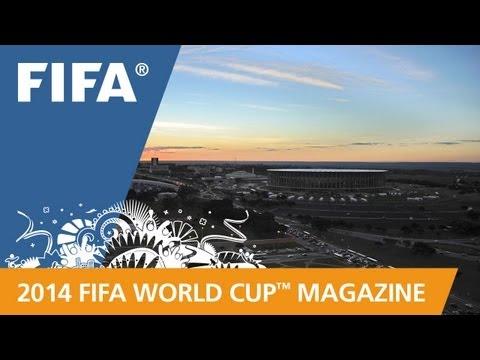 Brazil's modern marvel of a stadium
