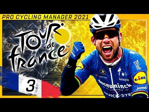 Tour de France 2021 - Stage 3 | Lorient - Pontivy | Pro Cycling Manager 2021 |