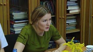 Мария Кожевникова в Вашкинском районе