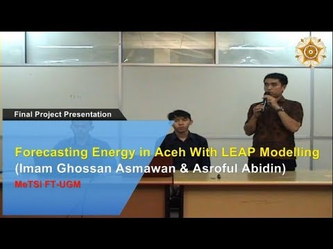 2 Forecasting Energy in Aceh with LEAP Modelling