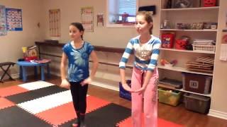 Видео урок танца «В Америке» 1