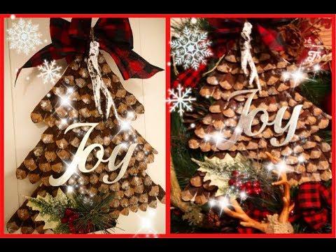 ~DT CHRISTMAS DIY- RUSTIC WOODLAND CABIN DECOR- LODGE DECOR~