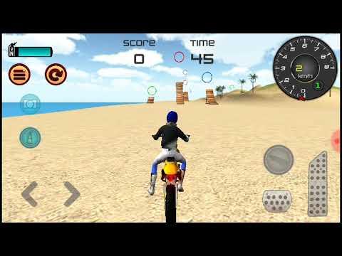 je joux un jeux de moto cross cc trop bien youtube