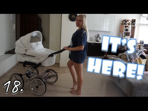 OUR EMMALJUNGA STROLLER IS HERE 🎉👶 | НАША ЭММАЛЮНГА КОЛЯСКА 🎉👶
