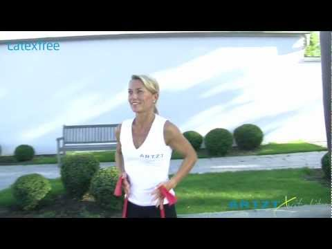 Video: Artzt Vitality Latex-Free Exercise Band